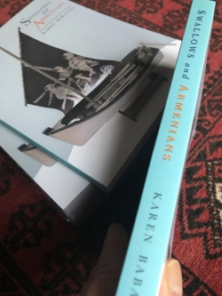 Swallows and Armenians, a book of short stories